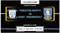 Prediksi Bola Jitu Preston North End vs Sheffield Wednesday 27 April 2019
