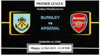Prediksi Bola Jitu Burnley Vs Arsenal 12 Mei 2019