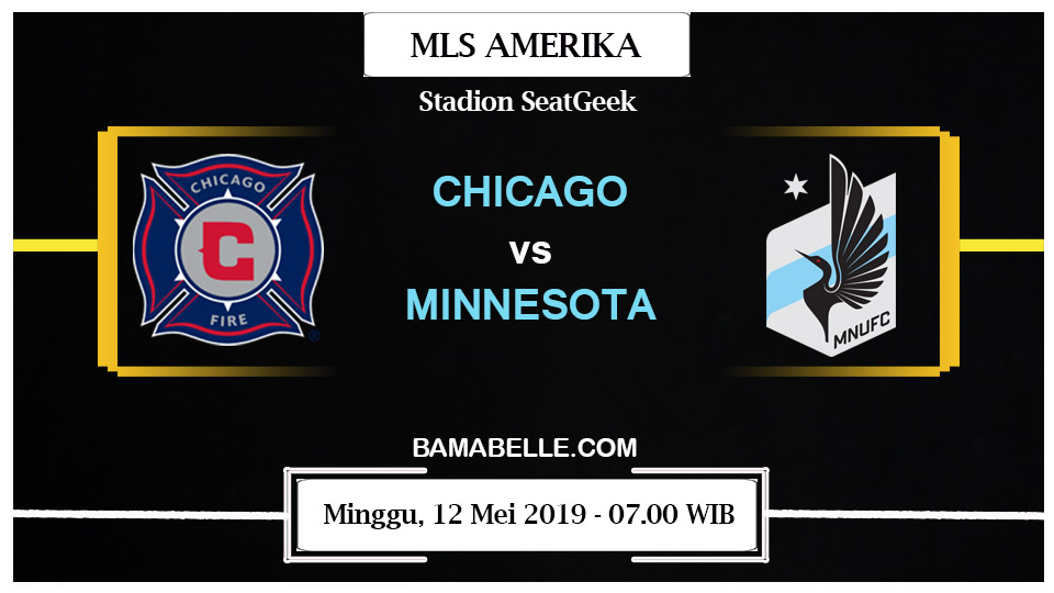 Prediksi Bola Jitu Chicago Fire Vs Minnesota United 12 Mei 2019