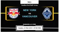 Prediksi Bola Jitu New York RB Vs Vancouver Whitecaps 23 Mei 2019