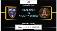 Prediksi Bola Jitu Real Salt Lake Vs Atlanta United 25 Mei 2019