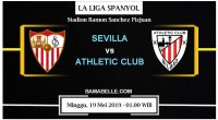 Prediksi Bola Jitu Sevilla Vs Athletic Club 19 Mei 2019