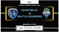 Prediksi Bola Jitu Sporting KC Vs Seattle Sounders 27 Mei 2019