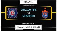 Prediksi Bola Jitu Chicago Fire Vs Cincinnati 14 Juli 2019