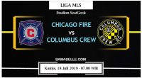 Prediksi Bola Jitu Chicago Fire Vs Columbus Crew 18 Juli 2019