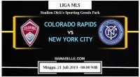 Prediksi Bola Jitu Colorado Rapids Vs New York City 21 Juli 2019