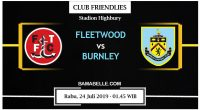 Prediksi Bola Jitu Fleetwood Town Vs Burnley 24 Juli 2019