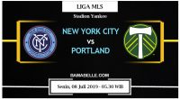 Prediksi Bola Jitu New York City Vs Portland Timbers 08 Juli 2019