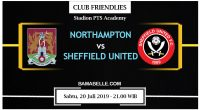 Prediksi Bola Jitu Northampton Town Vs Sheffield United 20 Juli 2019