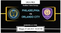 Prediksi Bola Jitu Philadelphia Union Vs Orlando City 07 Juli 2019