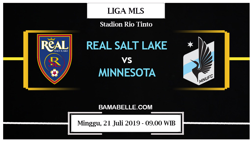 Prediksi Bola Jitu Real Salt Lake Vs Minnesota United 21 Juli 2019