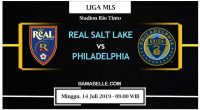 Prediksi Bola Jitu Real Salt Lake vs Philadelphia Union 14 Juli 2019