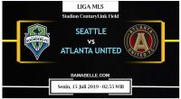 Prediksi Bola Jitu Seattle Sounders Vs Atlanta United 15 Juli 2019