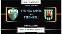 Prediksi Bola Jitu The New Saints Vs Feronikeli 10 Juli 2019