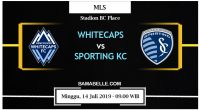 Prediksi Bola Jitu Vancouver Whitecaps vs Sporting Kansas City 14 Juli 2019