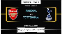 Prediksi Bola Jitu Arsenal vs Tottenham Hotspur 01 September 2019