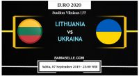 Prediksi Bola Jitu Lithuania Vs Ukraina 07 September 2019