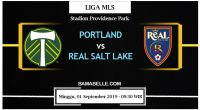Prediksi Bola Jitu Portland Timbers Vs Real Salt Lake 01 September 2019
