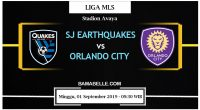 Prediksi Bola Jitu SJ Earthquakes Vs Orlando City 01 September 2019
