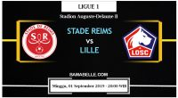 Prediksi Bola Jitu Stade Reims Vs Lille 01 September 2019