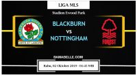 Prediksi Bola Jitu Blackburn Rovers Vs Nottingham Forest 02 Oktober 2019