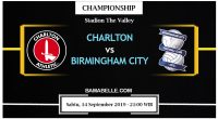 Prediksi Bola Jitu Charlton Athletic Vs Birmingham City 14 September 2019