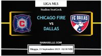 Prediksi Bola Jitu Chicago Fire Vs Dallas 15 September 2019