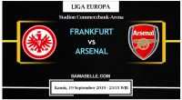 Prediksi Bola Jitu Eintracht Frankfurt vs Arsenal 19 September 2019