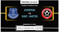 Prediksi Bola Jitu Everton Vs Sheffield United 21 September 2019