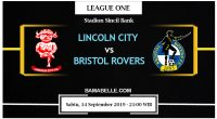 Prediksi Bola Jitu Lincoln City Vs Bristol Rovers 14 September 2019