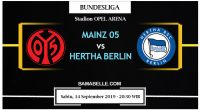 Prediksi Bola Jitu Mainz 05 Vs Hertha Berlin 14 September 2019