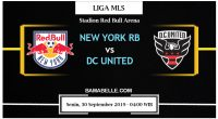 Prediksi Bola Jitu New York RB Vs DC United 30 September 2019
