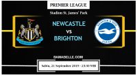 Prediksi Bola Jitu Newcastle United Vs Brighton & Hove Albion 21 September 2019