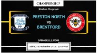 Prediksi Bola Jitu Preston North End Vs Brentford 14 September 2019
