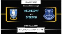 Prediksi Bola Jitu Sheffield Wednesday Vs Everton 25 September 2019