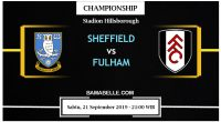 Prediksi Bola Jitu Sheffield Wednesday Vs Fulham 21 September 2019