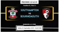 Prediksi Bola Jitu Southampton Vs AFC Bournemouth 21 September 2019