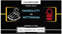 Prediksi Bola Jitu Swansea City vs Nottingham Forest 14 September 2019