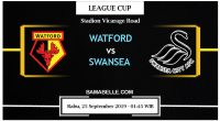 Prediksi Bola Jitu Watford Vs Swansea City 25 September 2019
