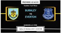 Prediksi Bola Jitu Burnley vs Everton 05 Oktober 2019
