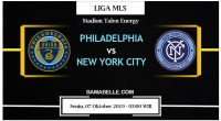 Prediksi Bola Jitu Philadelphia Union Vs New York City 07 Oktober 2019