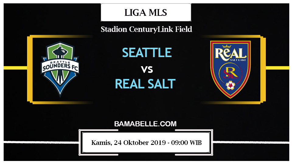 Prediksi Bola Jitu Seattle Sounders Vs Real Salt Lake 24 Oktober 2019